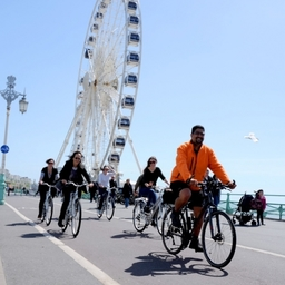 Cycle Brighton along the Seafront