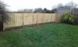 Fence and gate job
