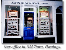 Our Offices in Hastings - Tel: 01424 421544