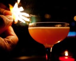 Cocktails at the Penny Black Restaurant & Bar