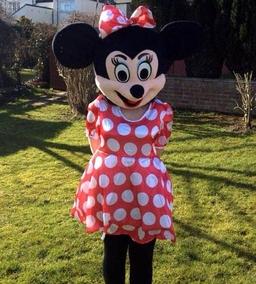 Minnie mascot costume from £50