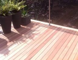 Garden decking installed in Peterborough