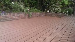 Composite decking by Aspects of Landscaping