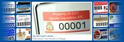 Asset Label Banner