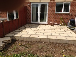 Paving work by S T Gardening