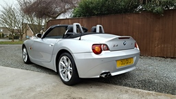 BMW Z4 after our full valet package