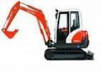 Kubota 1.5 ton excavtor  for hire