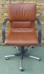 Vitra Figura Executive Chair Quality Leather