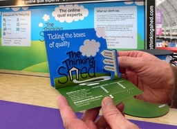 The Thinking Shed Stand And Pop Up