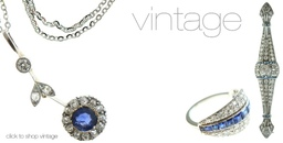 Vintage diamond jewellery, Yorkshire