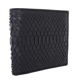 Nova Noir Python leather Hip wallet