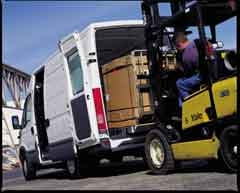 Van And Forklift