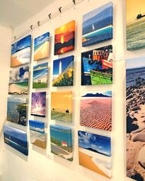 Landscape art in Riverview Studio