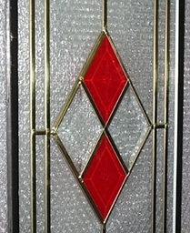 Leaded Diamond Enlarged