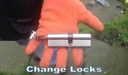 We can change your locks for peace of mind & security - cheaper than a locksmith!