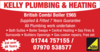 Kelly Heating & Plumbing