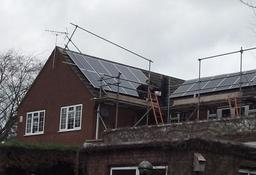 4 Kwp System Fitted in Belper, Derbyshire.