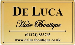 De Luca Hair Boutique Limited Logo White Background
