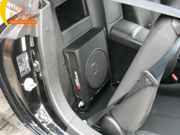 Mazda Mx 5 Fitted With Vibe Optisound 8 Active Subwoofer.