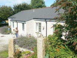 Cottages on Tehidy Holiday Park, Cornwall