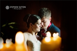 Bride and Groom at The Moat House