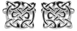 Celtic Circular Design Rhodium Plate
