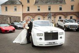 Phantom Chauffeur at Wedding