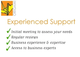 Origami - expertise and experienced support