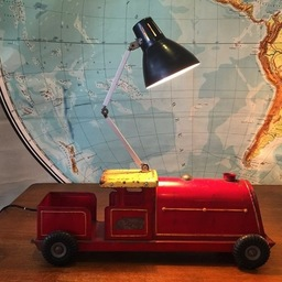 Vintage Toy Truck lamp