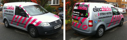 Elecchicks van graphics