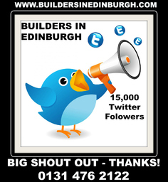 Builders In Edinburgh 15,000 Twitter Followers