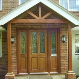 Hardwood Derby Door