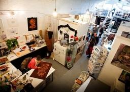 Inside The Open Studions, Brighton Art Workshops