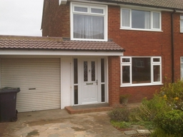 Front renovation/ open porch,fascias,soffits,guttering and glazing