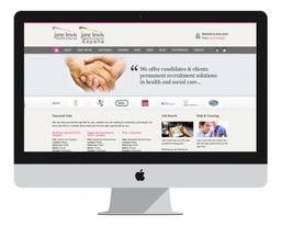Jane Lewis Website Homepage