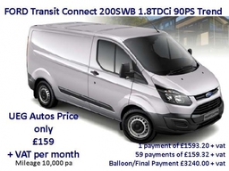 Ford Transit Trend 90ps Feb14