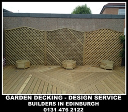 DECKING, JOINERY SERVICES EDINBURGH