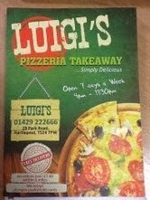 The Pizza Guys 29 Park Road Hartlepool Cleveland Ts24 7pw