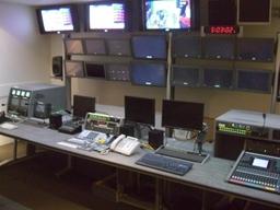 Television studio equipment, audio visual equipment, television studio installation