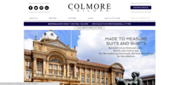 Colmore Tailors | Website