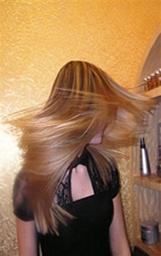 The nano keratin hair Straightening effect