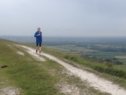 Running the South Downs Way
