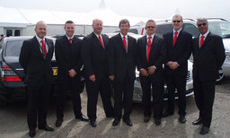 Our team of luxury car chauffeurs