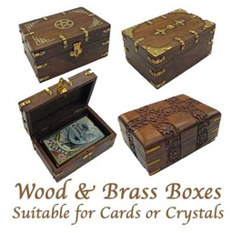 Boxes for Tarot cards and Reading Cards