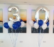 30th Birthday Balloons at Chichester Water Sports Centre