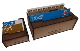 Royal Mail Stamp Holders - Designed by us.