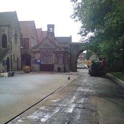 Repton School before work.
