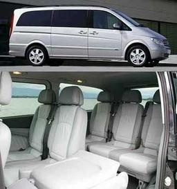 Viano Mercedes MPV Car