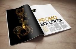 Promo Sollertia, magazine layout