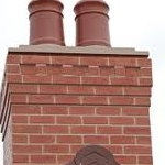 Repointed Chimney